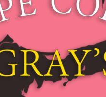 Cape Cod - Gray's Beach Sticker