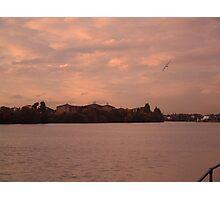River Thames Sunset Photographic Print