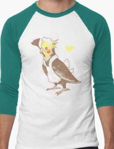 Cockatiel Maid Men's Baseball ¾ T-Shirt