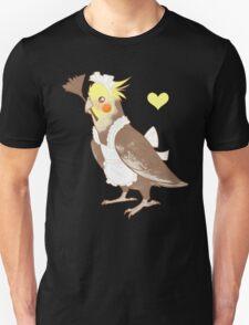 Cockatiel Maid Unisex T-Shirt