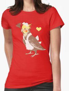 Cockatiel Maid Womens T-Shirt