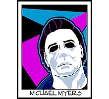Michael Myers in the 80's Photographic Print