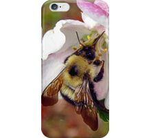 bumble bee in bliss iPhone Case/Skin