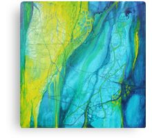 Fragmented paths - Inner journeys Canvas Print