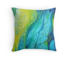 Fragmented paths - Inner journeys Throw Pillow