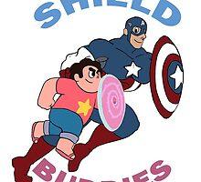 Shield Buddies by Penn92Evans