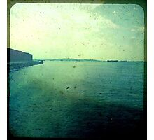 you are somewhere by a different sea and I am here... Photographic Print
