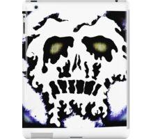Melting skull number 2 iPad Case/Skin