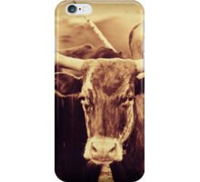 Longhorn Cow iPhone Case/Skin