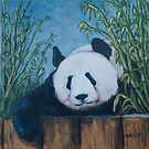 Chillin' Panda by Michael Beckett