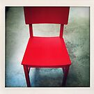 The Red Chair by RobertCharles