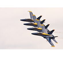 The Navy Blue Angels Photographic Print