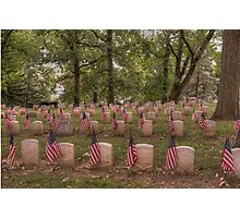 Tribute to Our Veterans Photographic Print