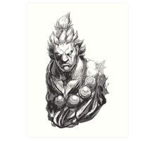 Akuma Great Demon Art Print