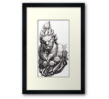 Akuma Great Demon Framed Print