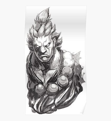 Akuma Great Demon Poster
