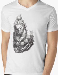 Akuma Great Demon Mens V-Neck T-Shirt