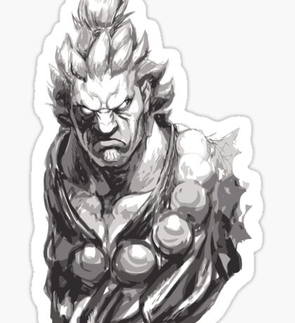 Akuma Great Demon Sticker