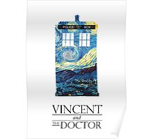 """""""Vincent and the Doctor"""" Poster"""