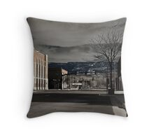 Dusty Sky Throw Pillow