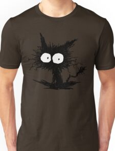 Black Unkempt Kitten GabiGabi Unisex T-Shirt