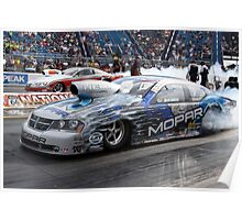 Pro Stock Burnouts Poster