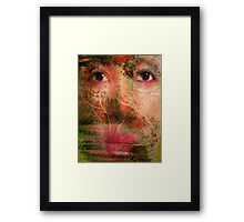Planter Of Trees, Earth Helper Framed Print