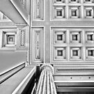 London Details in Black and White - British Museum by DavidGutierrez