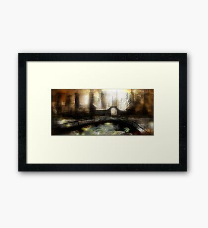 Abstract scifi Framed Print