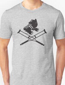 Roller Derby Crutches Unisex T-Shirt