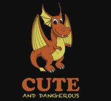 Dragon.  Cute and Dangerous by Pat Scullion