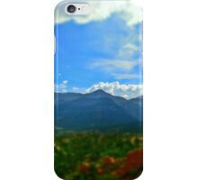 View from Garden of the Gods iPhone Case/Skin