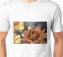 Macro of fly on flower Unisex T-Shirt