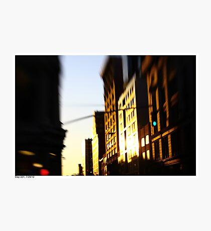 Lensbaby Sunset Photographic Print