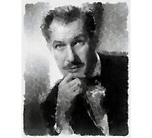 Vincent Price by John Springfield Photographic Print
