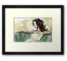 abstract portrait #2 Framed Print