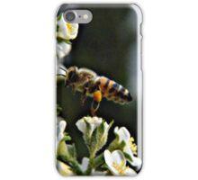 Bee on Flower 2 iPhone Case/Skin