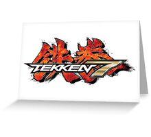 Tekken 7 King of Iron Fist Tournament Greeting Card