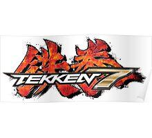 Tekken 7 King of Iron Fist Tournament Poster