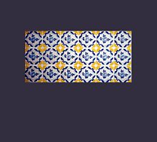 Portuguese Blue and yellows tiles  Womens Fitted T-Shirt