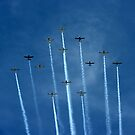 Lucky 13..... Formation... by Larry Llewellyn