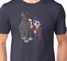 Ross Poldark and Darkie  Unisex T-Shirt