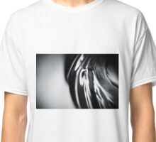 Silver Swirl MAX : Black and White Classic T-Shirt
