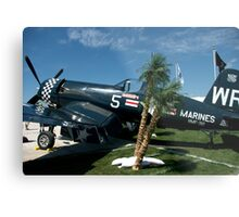 Marines Forever............. A Work Horse.... Metal Print