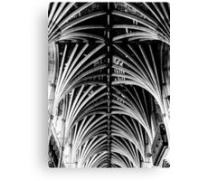 Vaulted Exeter Cathedral Canvas Print
