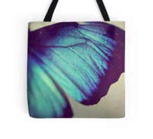 Black and Blue Wing Tote Bag