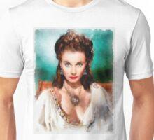 Vivien Leigh by John Springfield Unisex T-Shirt