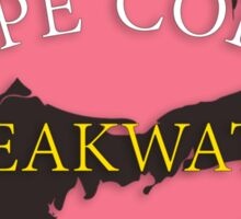 Cape Cod - Breakwater Beach Sticker