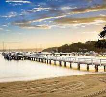 Balmoral Beach, Sydney, sunrise by Distan