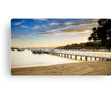 Balmoral Beach, Sydney, sunrise Canvas Print